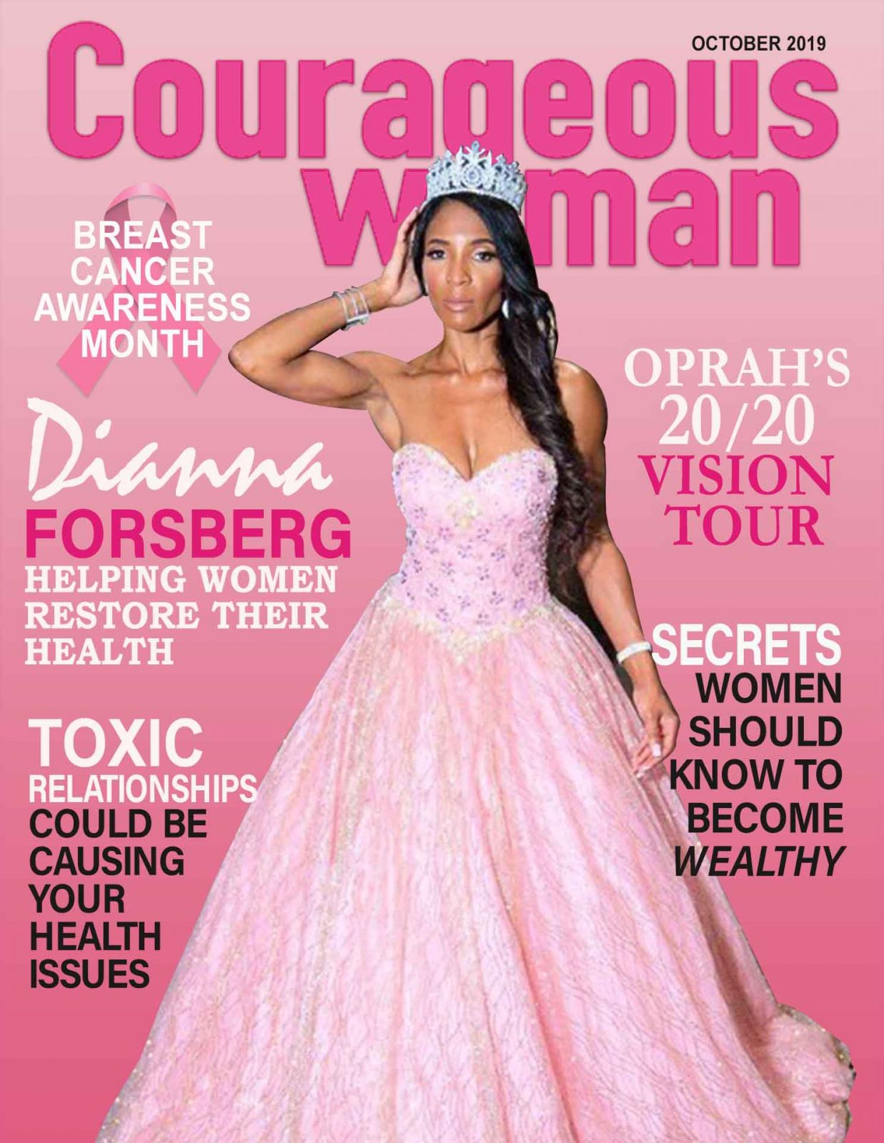 Dianna Forsberg-Courageous Woman Magazine