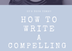 How to Write Your Personal Story for an Anthology