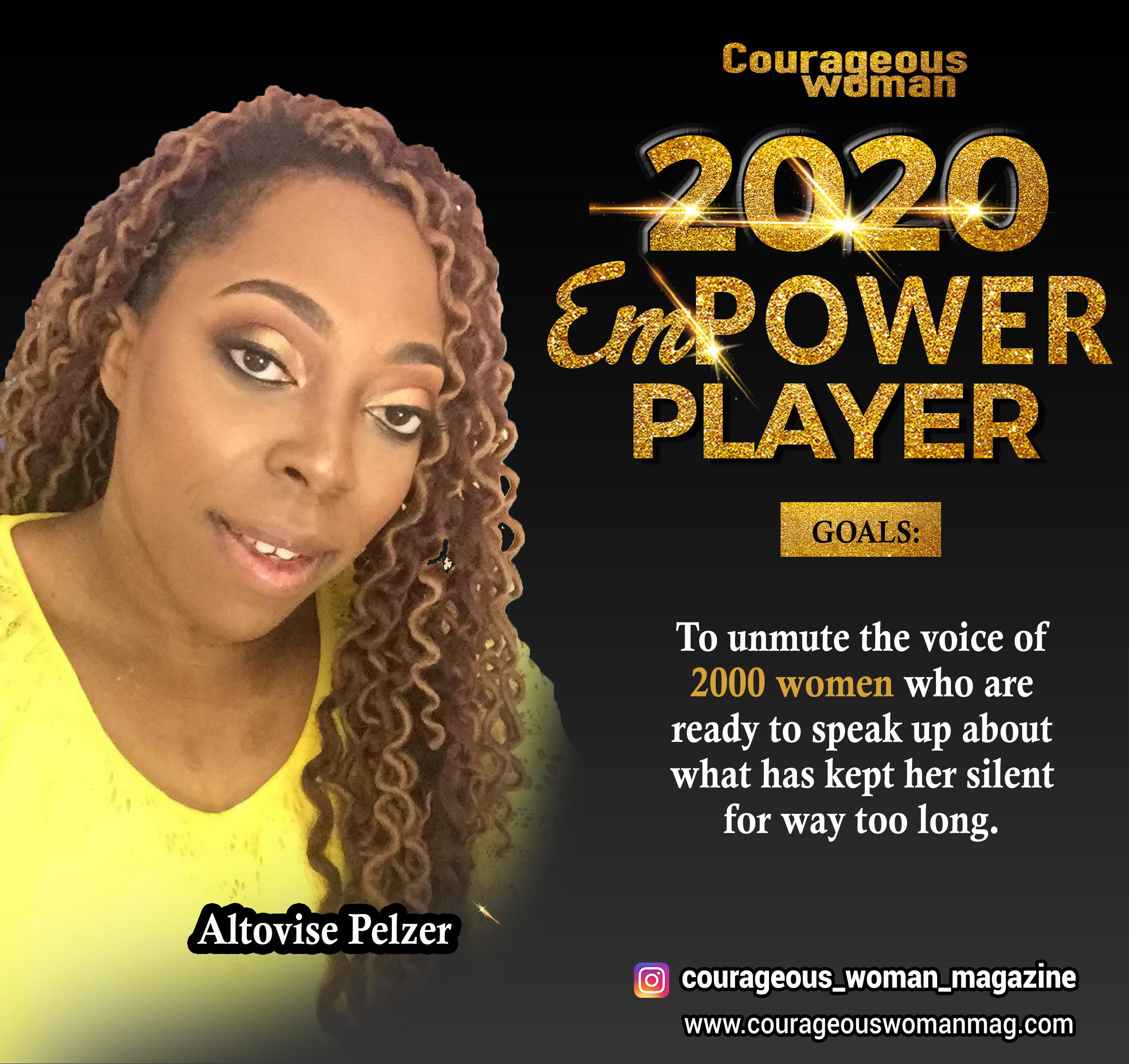 The Empower Player Summit Speaker, Altovise Pelzer