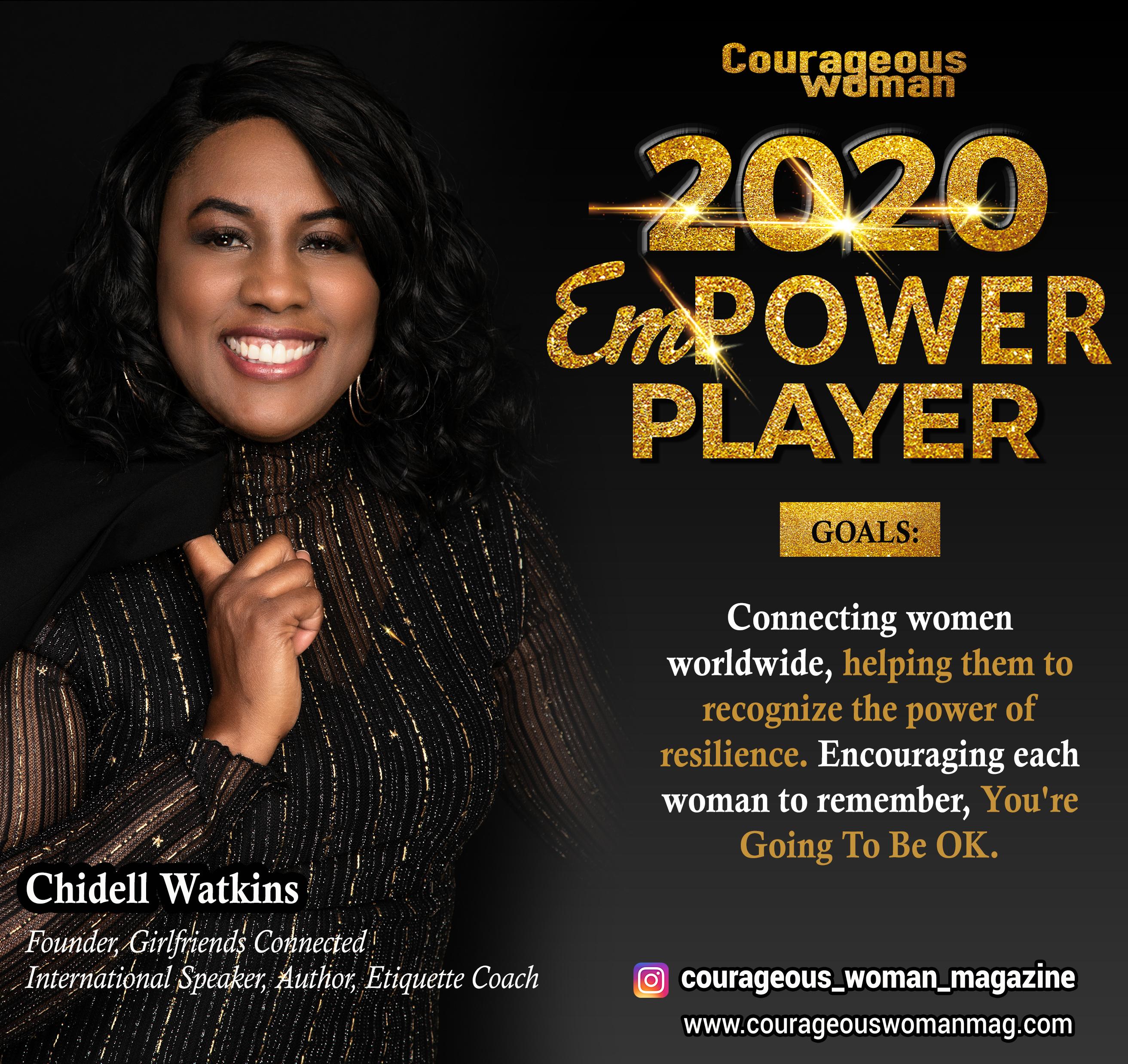 Chidell Watkins Empower Players Speaker