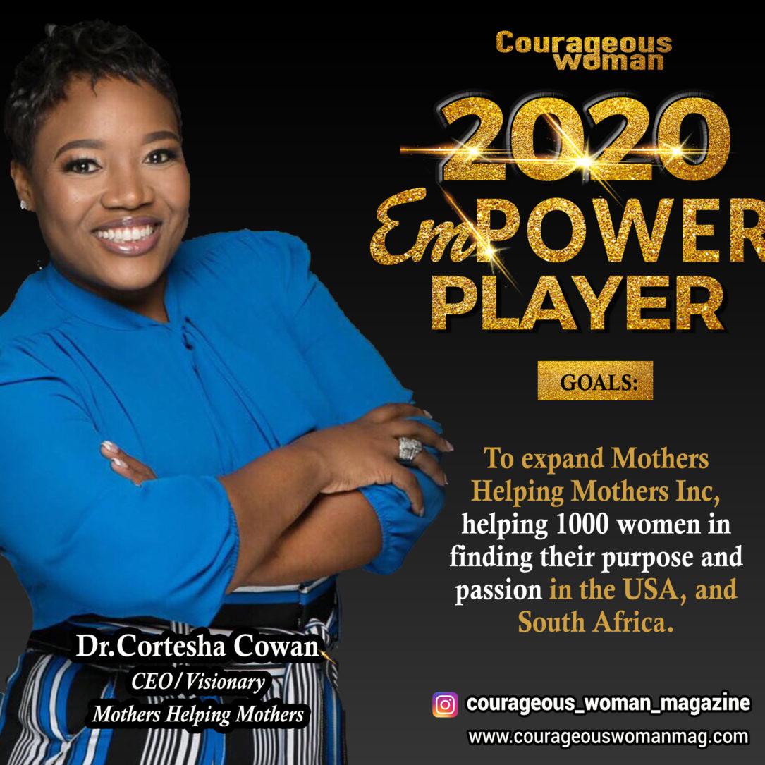 Dr. Cortesha Cowan: Empower Player Speaker