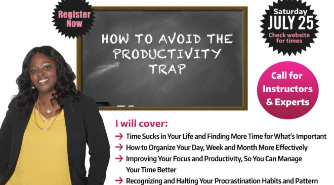 Free Course: How To Avoid The Productivity Trap With Deandrea Fleming