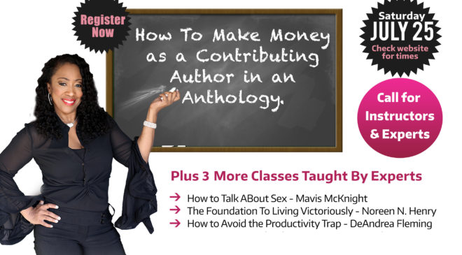 Free Online Classes July 25!