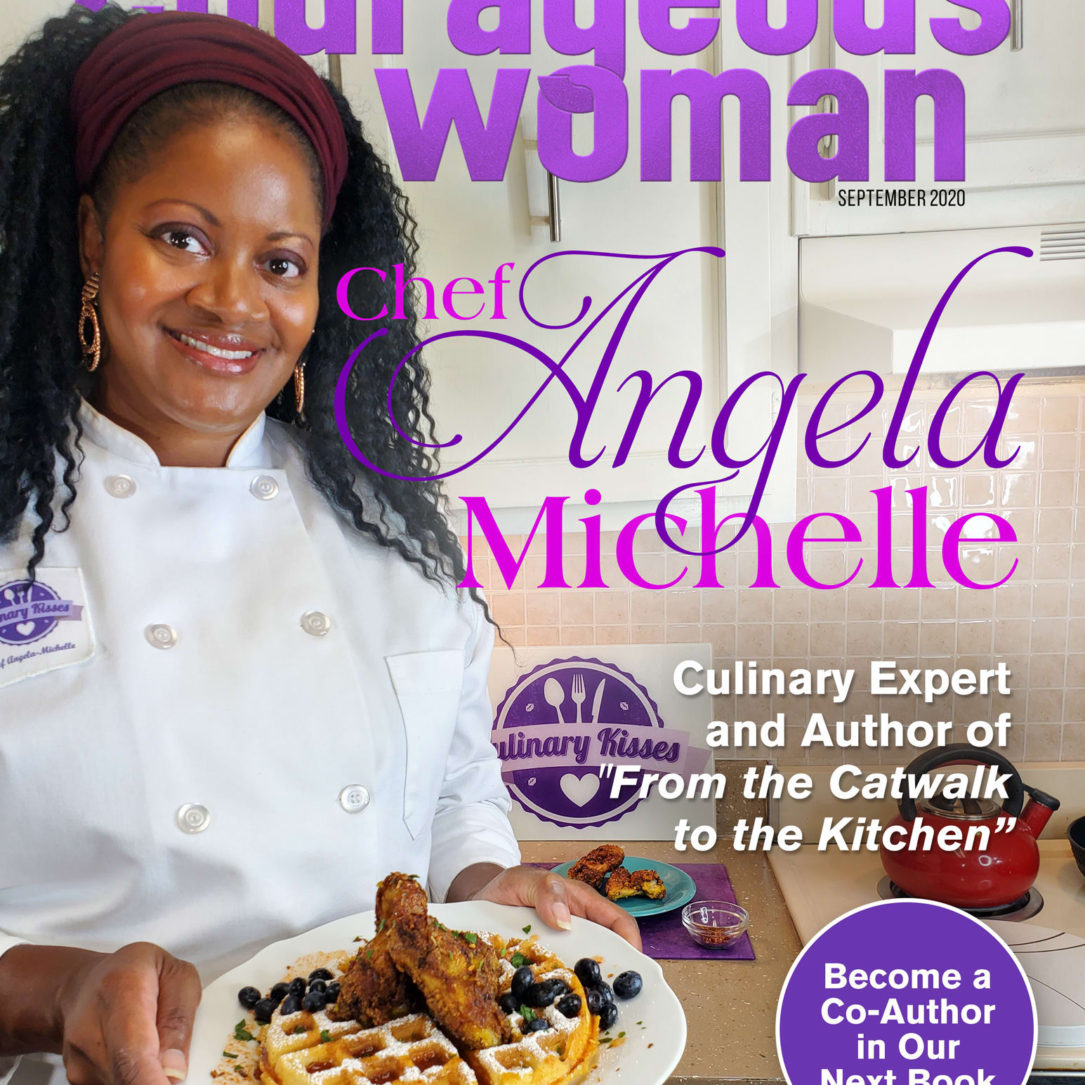 Chef-Angela-michelle-Courageous-woman-magazine-Cover