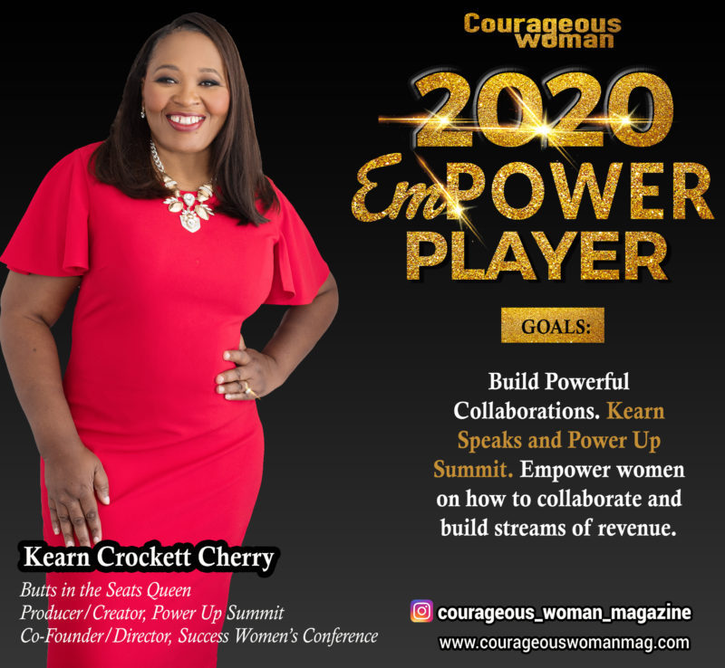 Kearn Crockett Cherry: Empower Players Summit Speaker
